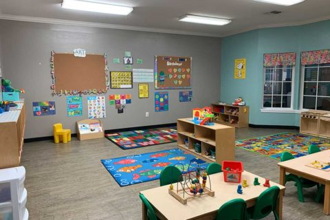 Stepping Stones Child Care room